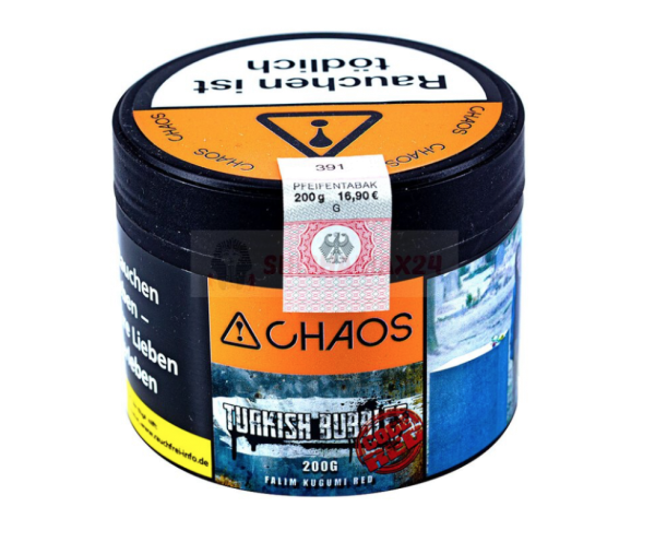Chaos - Turkish Bubbles - Code Red 200g