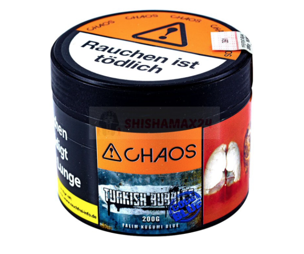 Chaos - Turkish Bubbles - Code Blue 200g
