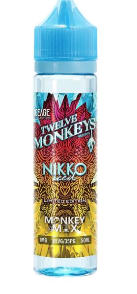Twelve Monkeys - Liquid Nikko Iced 50ml