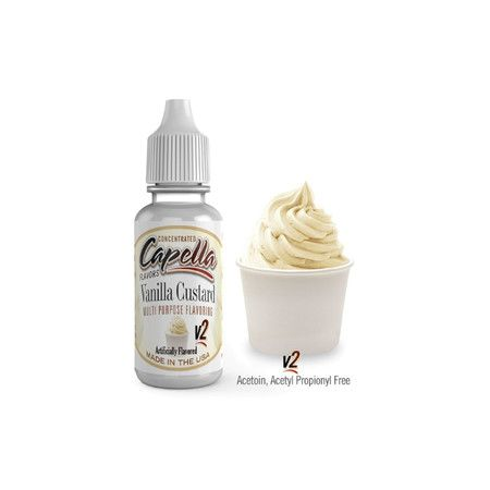 Capella - Aroma New Vanilla Custard V2 13ml