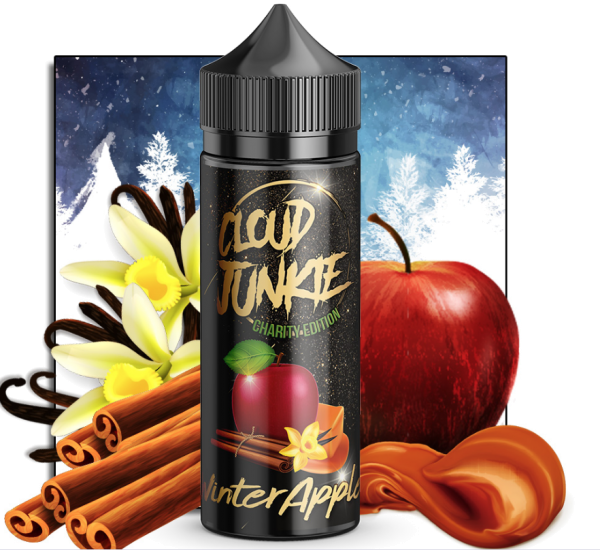 Cloud Junkie - Aroma Winter Apple (Limitiert) 30ml
