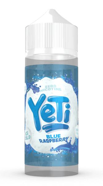 Yeti Liquid - Blue Raspberry 100ml/120ml - 0mg