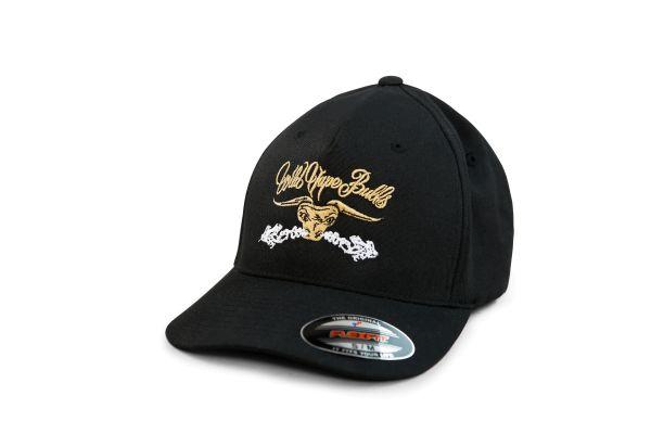 Flexfit Cap - Wild Vape Bulls - Black