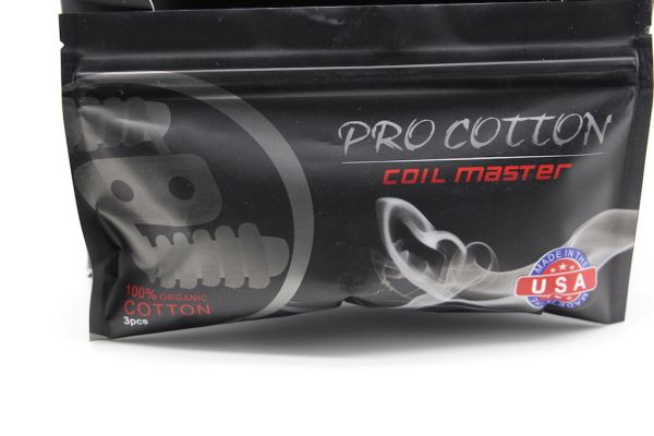 Coil Master Pro Cotton - 3 Wattebällchen