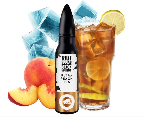 Riot Squad Aroma - Black Edition - Ultra Peach Tea 15ml