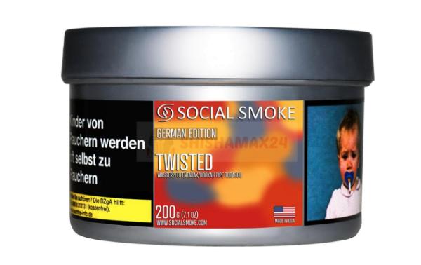 Social Smoke - Twisted 200g