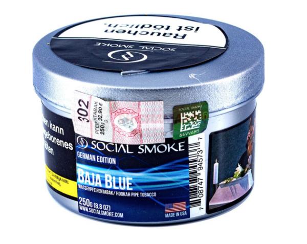Social Smoke - Baja Blue 250g