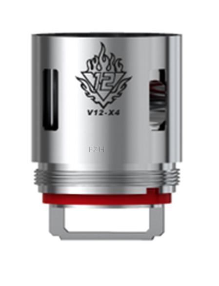 SMOK TFV12 - 3 x V12 - X4 Coil - 0,15 Ohm