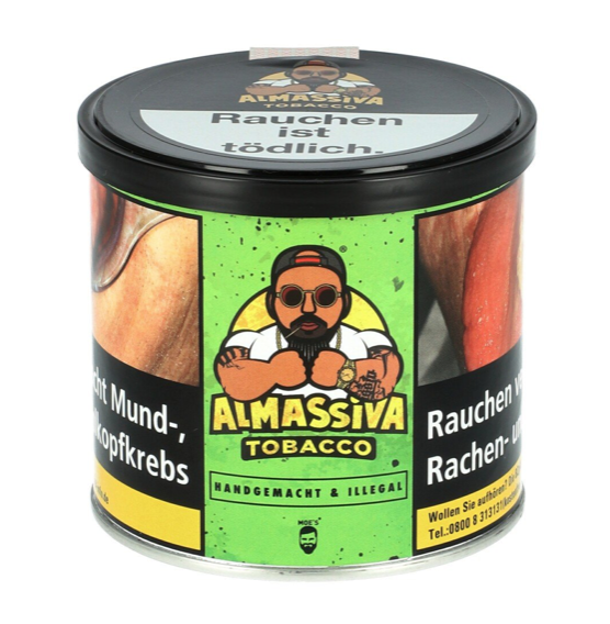 Almassiva Tobacco - Handgemacht & Illegal 200g