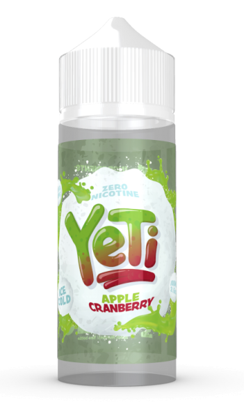 Yeti Liquid - Apple Cranberry 100ml/120ml - 0mg