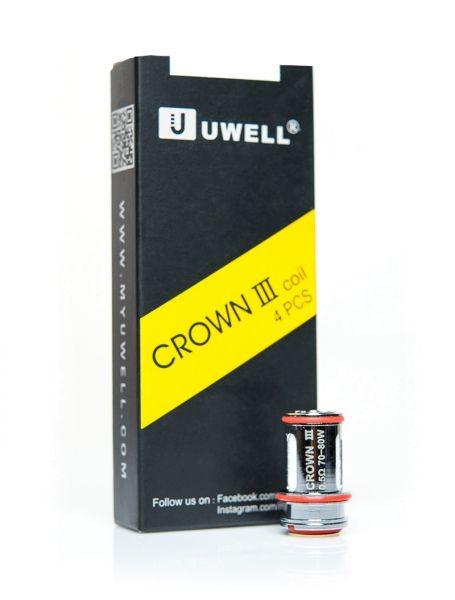 4 x Uwell Crown 3 Verdampferköpfe