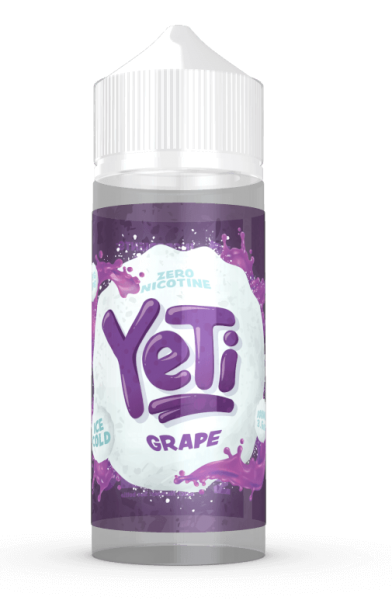 Yeti Liquid - Grape 100ml/120ml - 0mg