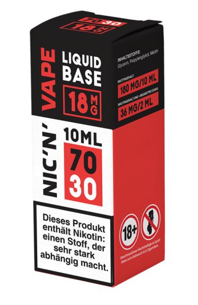 Nikotinshot 18mg (70/30) 10ml