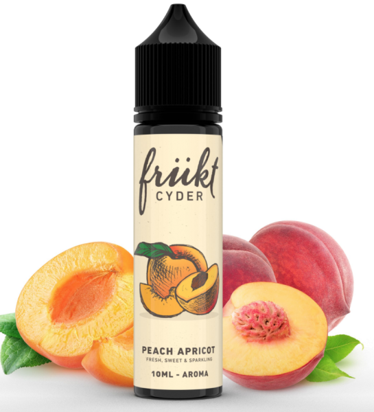 Frükt Cyder - Aroma Peach Apricot 10ml