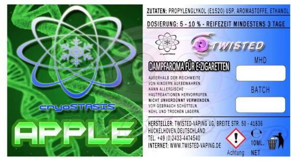 Twisted - Cryotasis Apple