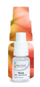 Happy Liquid - Pfirsich 10ml - 6mg