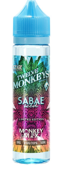 Twelve Monkeys - Liquid Sabae Iced 50ml