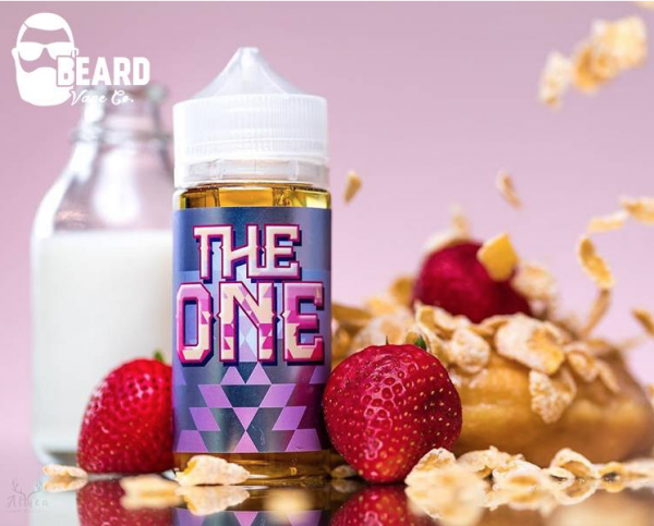 The One - Beard Vape - Erdbeere Donut - 100ml