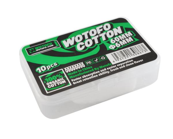 Wotofo XFiber Cotton - 6mm