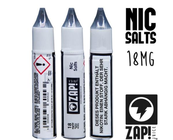 Zape! Juice - Nic Salts Shots 18mg/ml