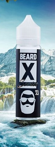 Beard X Serie - Cinnamon Funnel Cake - No.32 - 50ml