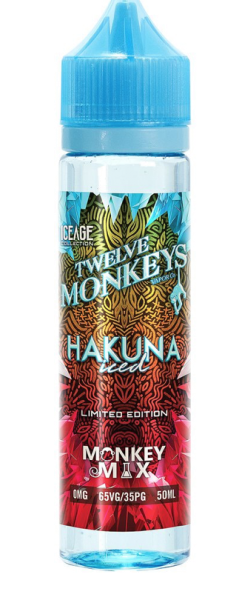 Twelve Monkeys - Liquid Hakuna Iced 50ml