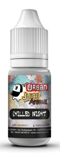 Urban Juice - Chilled Night 10ml